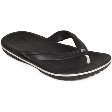 Crocs Black Flip Flops - oc01