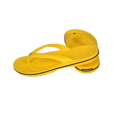 Crocs Yellow Flip Flops - oc05