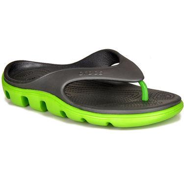 Crocs Grey Flip Flops - oc09