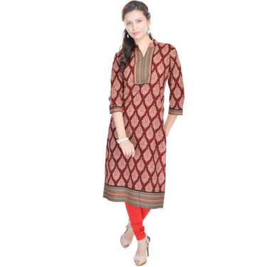 Combo of 3 Cotton Printed Kurti -DLI6KCO307
