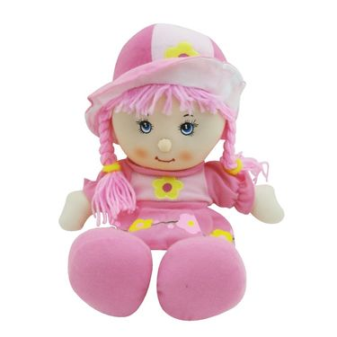 Sweet Rag Little Baby Doll Soft Toy - Pink