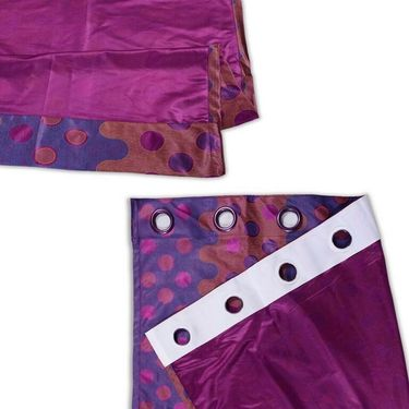 Set of 4 Printed Door curtain-7 feet-DNR_2_2076
