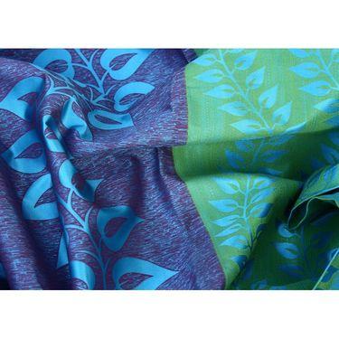 Set of 4 Printed Door curtain-7 feet-DNR_2_3022