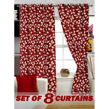 Set of 8 Printed Door curtain-7 feet-DNR_4_2017