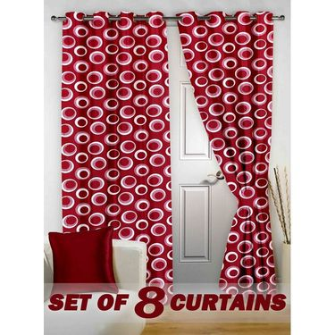 Set of 8 Printed Door curtain-7 feet-DNR_4_2020