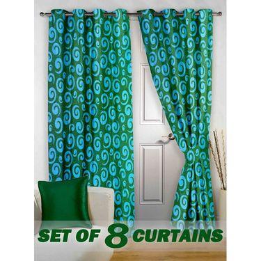 Set of 8 Printed Door curtain-7 feet-DNR_4_3020