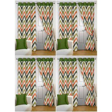 Storyathome Set 8 Door curtain-7 feet-DTZ_4-1004