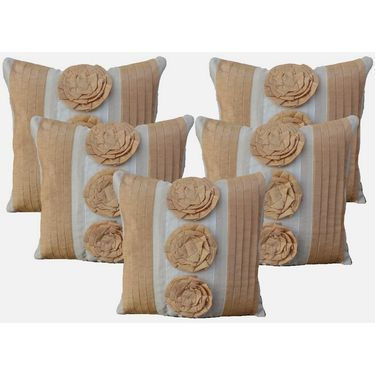 Set of 5 Dekor World Design Cushion Cover-DWCC-12-087