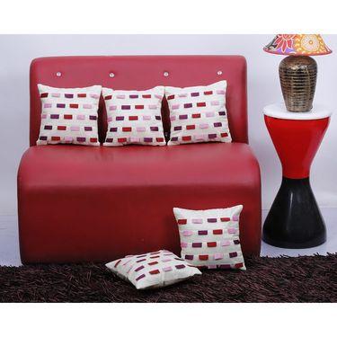 Set of 5 Dekor World Design Cushion Cover-DWCC-12-090