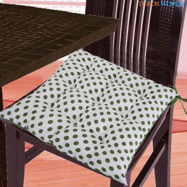 Dekor World Cotton Printed Chair Pad-DWCP-039
