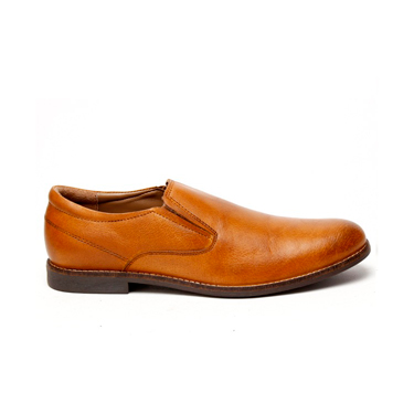 Delize Leather Casual Shoes - Tan