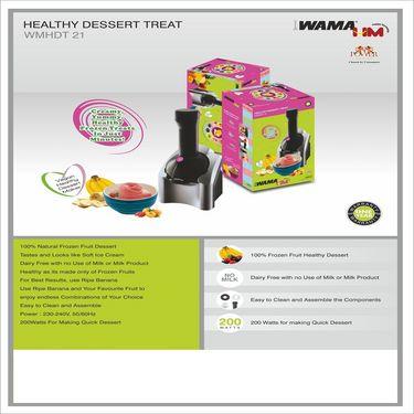 WAMA Dessert Maker -WMHDT 21