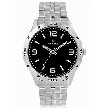 Combo of Dezine Wrist Watch + Aviator Sunglass_CMB05-BLK-PRP
