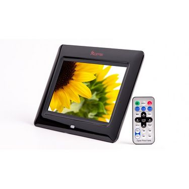 XElectron 700PS 7 Inch Full Function Digital Photo Frame with Remote - Black