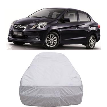 Digitru Car Body Cover for Honda Amaze - Silver