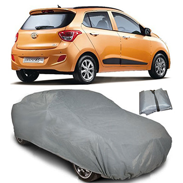 Digitru Car Body Cover for Hyundai Grand i10 - Dark Grey