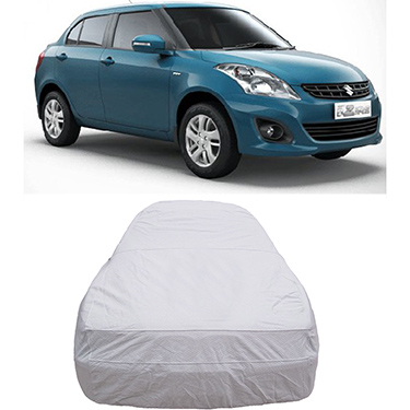 Digitru Car Body Cover for Maruti Suzuki Swift DZire - Silver