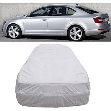 Digitru Car Body Cover for Skoda Octavia - Silver