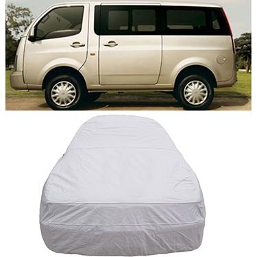 Digitru Car Body Cover for Tata Venture - Silver