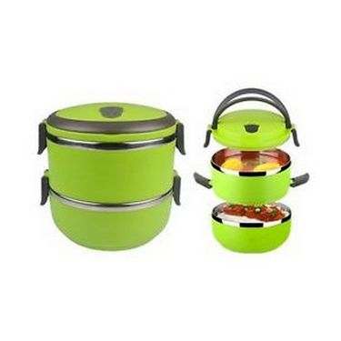 Silver Kris Lunch Box 2 Layer (Green) EHPSKLBG0065