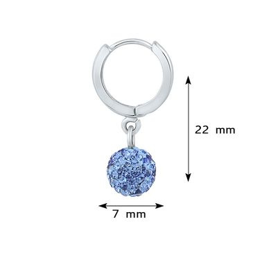 Mahi Rhodium Plated Artificial Earrings_Er1104028rbl