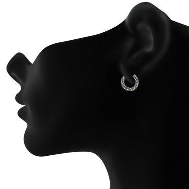Mahi Rhodium Plated Artificial Earrings_Er1107045r