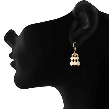 Branded Gold Plated Artificial Earrings_Er2106107g