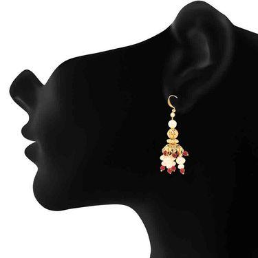 Branded Gold Plated Artificial Earrings_Er2106112g