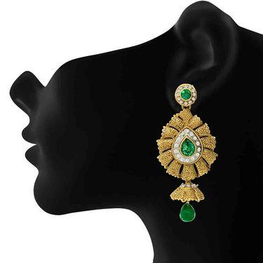 Branded Gold Plated Artificial Earrings_Er30012g