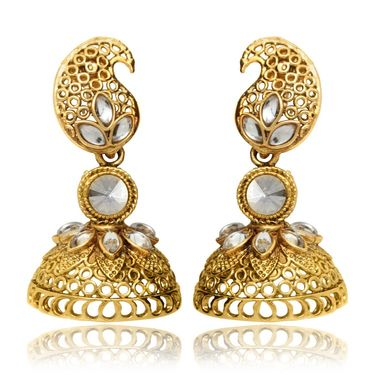Branded Gold Plated Artificial Earrings_Er30013g