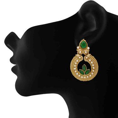 Branded Gold Plated Artificial Earrings_Er30043ggre