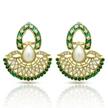 Branded Gold Plated Artificial Earrings_Er30047ggre