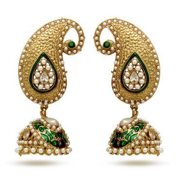 Branded Gold Plated Artificial Earrings_Er30048ggre