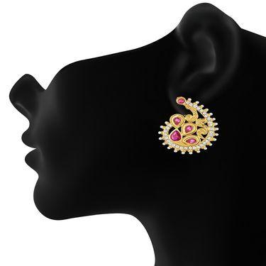 Branded Gold Plated Artificial Earrings_Er30057g