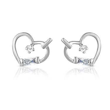 Mahi Rhodium Plated Artificial Earrings_Er3191013s