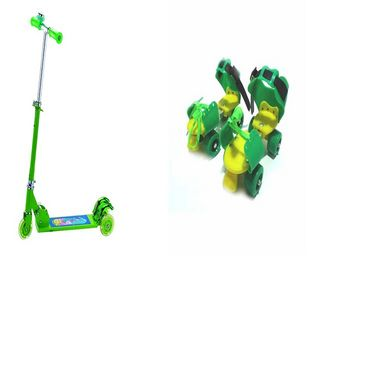 Facto Power Kids Special   3 (Kids Scooter, Baby Skates) available at Naaptol for Rs.225