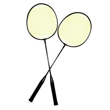 Facto Power Pair Of Badminton Racquets With Cover - KP515