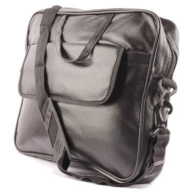 Fidato Laptop Bag + Fidato Black Belt + Fidato Black Leather Wallet