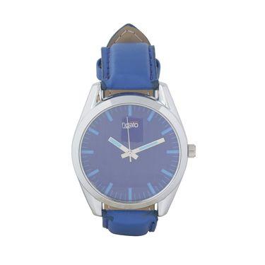Fidato Round Dial Analog Watch_fdmw32 - Blue
