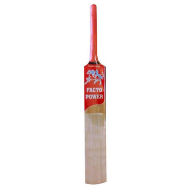 Facto Power Nude Kashmir Willow Size 6 Half Cane Handle Cricket Bat 1551