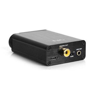 FiiO Olympus 2 E10KUSB DAC Headphone & Desktop Amplifier - Black
