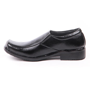 Foot n Style Italian Leather Formal Shoes  FS303 - Black