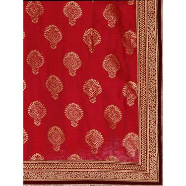 Indian Women Satin Chiffon Printed Saree -GA20122
