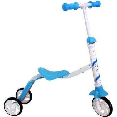 Kids 2in1 Riding cum Skate Scooter - Blue