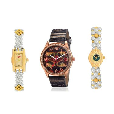 Pack of 3 Branded Women Watches_Gl0126