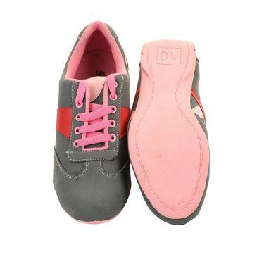 Ultimate PU Sports  GSB_S-4_Grey-Pink -  Grey