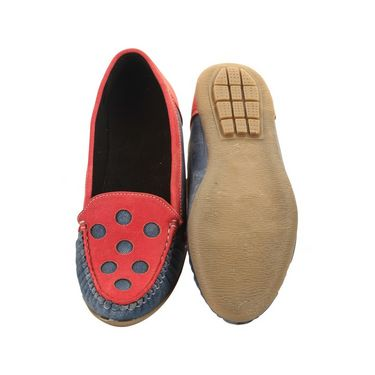 Ultimate PU Loafer  GSB_T-4_Red-Blue -  Red