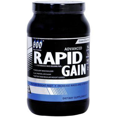 GXN Advance Rapid Gain 2 Lb (907grms) Butter scotch Flavor