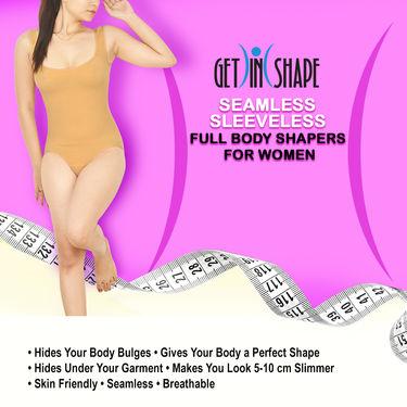 Get In Shape Seamless Sleeveless Full Body Shaper for Women