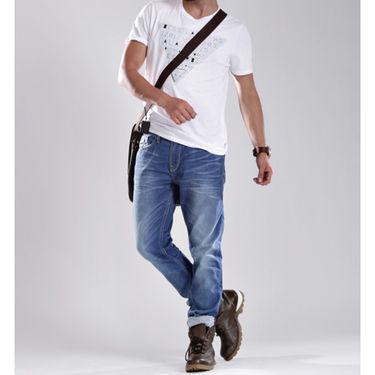 Guess Slim Fit Cotton Jeans For Men_Glb - Light Blue